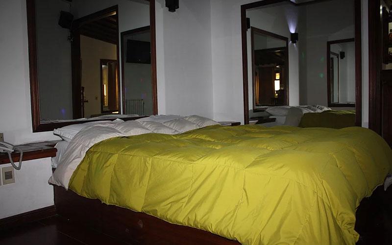 habitacion motel posada de la luna